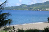 En face plage Anse Latouche le Carbet Martinique